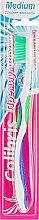 Духи, Парфюмерия, косметика Зубная щетка «Премиум Фреш», 0929, сине-салатовая - Colibris Medium