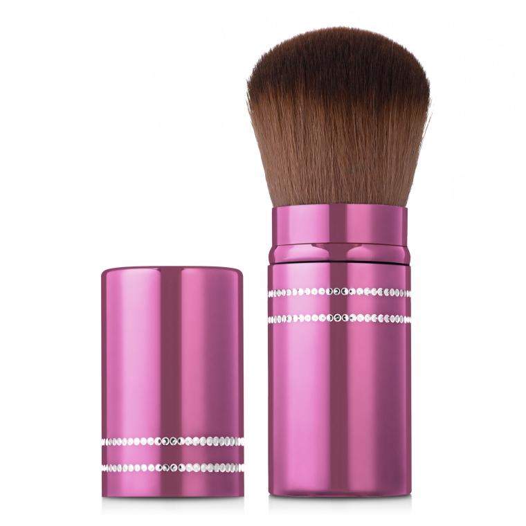 Кисть для пудры, MB-117, розовая - MaxMar Professional Brush