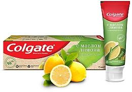 """Духи, Парфюмерия, косметика Зубная паста """"Освежающая чистота"""" с маслом лимона с натуральными ингредиентами - Colgate"""