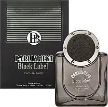 Духи, Парфюмерия, косметика Parfums Genty Parliament Black Label - Туалетная вода (тестер с крышечкой)
