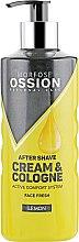 """Духи, Парфюмерия, косметика Крем после бритья """"Лимон"""" - Morfose Ossion After Shave Cream & Cologne Lemon"""