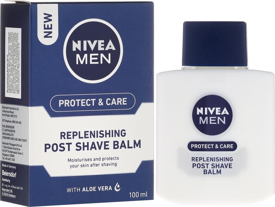 Восстанавливающий бальзам после бритья - Nivea For Men Replenishing After Shaving Balm — фото N1