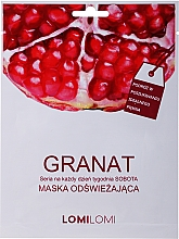 Духи, Парфюмерия, косметика Восстанавливающая маска с гранатом - Lomi Lomi Granat