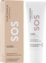 Духи, Парфюмерия, косметика Восстанавливающий крем для лица - Madara Cosmetics SOS Hydra Recharge Cream
