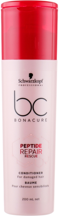 Кондиционер - Schwarzkopf Professional BC Bonacure Peptide Repair Rescue Conditioner