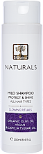 "Духи, Парфюмерия, косметика Шампунь для всех типов волос с арганой ""Защита и блеск. Сияющий ритуал"" - BIOselect Naturals Shampoo"