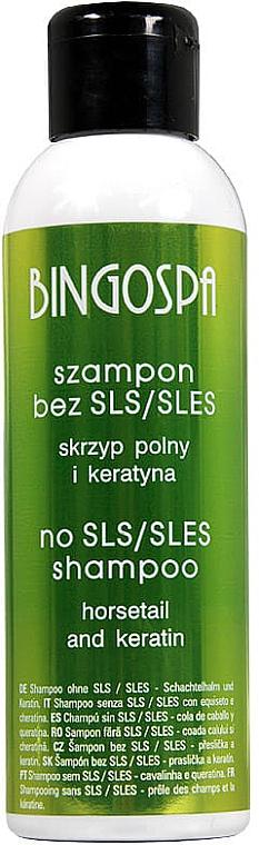 Шампунь для волос с кератином - BingoSpa Shampoo Without SLES / SLS Keratin