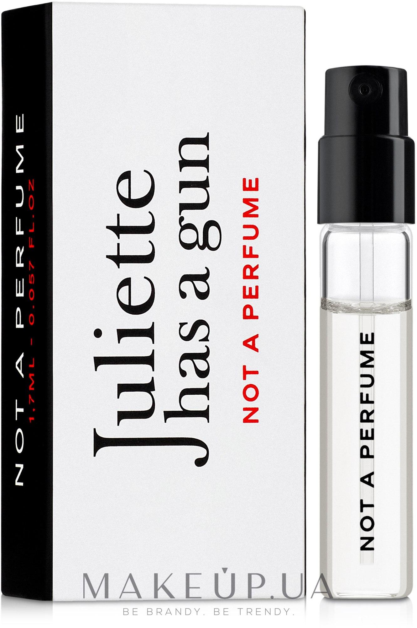 Juliette Has A Gun Not a Perfume - Парфюмированная вода (пробник) — фото 1.7ml