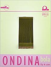 Духи, Парфюмерия, косметика Невидимки для волос 50 мм, бронзовые - Ondina