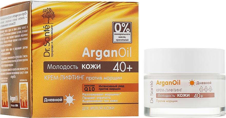 Дневной крем-лифтинг против морщин - Dr. Sante Argan Oil