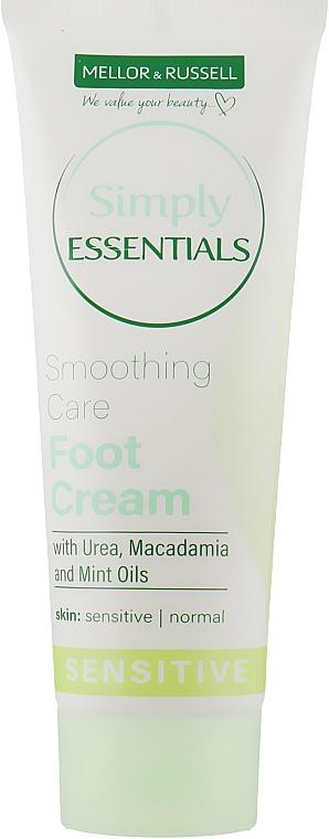 Крем для ног разглаживающий для нормальной и чувствительной кожи - Mellor & Russell Simply Essentials Sensitive Smoothing Care Foot Cream