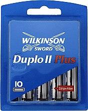 Духи, Парфюмерия, косметика Сменные кассеты для бритья, 10шт. - Wilkinson Sword Duplo 2 Plus