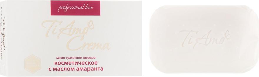 Туалетное мыло с маслом амаранта - Мыловаренные традиции Ti Amo Crema