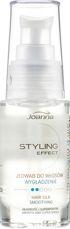 Шелк для волос - Joanna Styling Effect Hair Silk