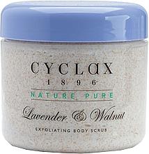 Духи, Парфюмерия, косметика Скраб для тела с лавандой и грецким орехом - Cyclax Nature Pure Lavender & Walnut Exfoliating Body Scrub