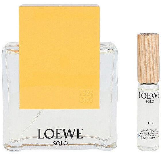 Loewe Solo Loewe Ella - Набор (edt/100ml + edt/7.5ml)