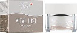 """Духи, Парфюмерия, косметика Ночной крем для лица """"Эдельвейс/Крокус"""" - Just Vital Just Night Cream"""