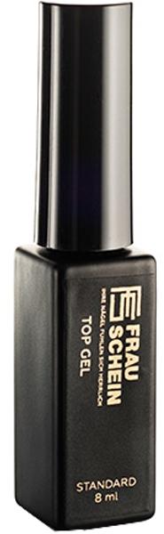 Топ-покрытие для ногтей с легким шиммером - Frau Schein Top Gel