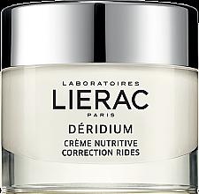 Духи, Парфюмерия, косметика Питательный крем для коррекции морщин - Lierac Paris Deridium Wrinkle Correction Nourishing Cream