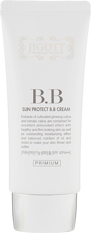 Солнцезащитный BB-крем - Jigott Sun Protect BB Cream SPF41 PA++