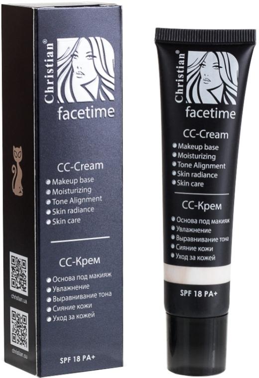 СС-крем для лица - Christian Facetime CC-Cream SPF18 PA+