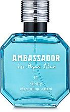 Духи, Парфюмерия, косметика Parfums Genty Ambassador in Aqua Blue - Туалетная вода (тестер с крышечкой)