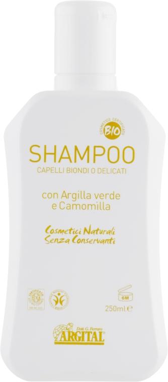 Шампунь для светлых волос - Argital Shampoo For Blonde Hair