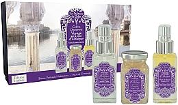 Духи, Парфюмерия, косметика La Sultane de Saba Musk Incense Vanilla - Набор (b/mist/50ml + b/scrub/100ml + b/oil/50ml)