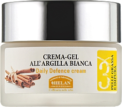 Духи, Парфюмерия, косметика Восстанавлюющий крем-гель для лица - Helan Viso 3 White Clay Cream-Gel DDcream