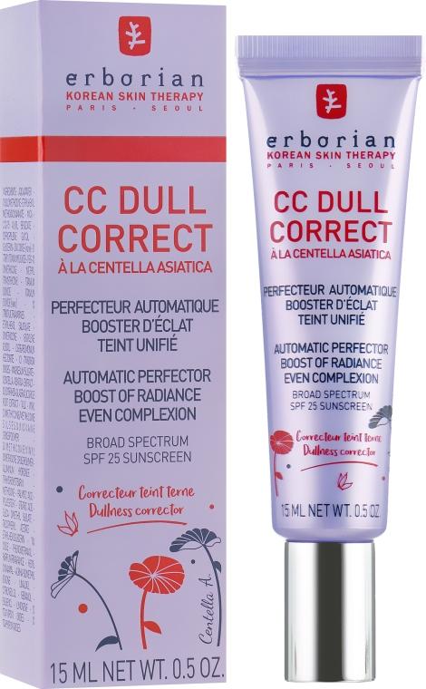 Корректирующий крем для лица - Erborian CC Dull Correct SPF 25