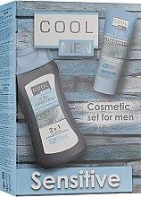 Парфумерія, косметика Набір - Cool Men Ultrasensitive (gel/250ml + ash/gel/50ml)