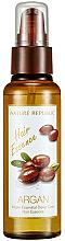 Духи, Парфюмерия, косметика Восстанавливающая эссенция для волос - Nature Republic Argan Essential Deep Care Hair Essence
