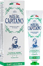 "Духи, Парфюмерия, косметика Зубная паста ""Натуральные травы"" - Pasta Del Capitano 1905 Natural Herbs Toothpaste"