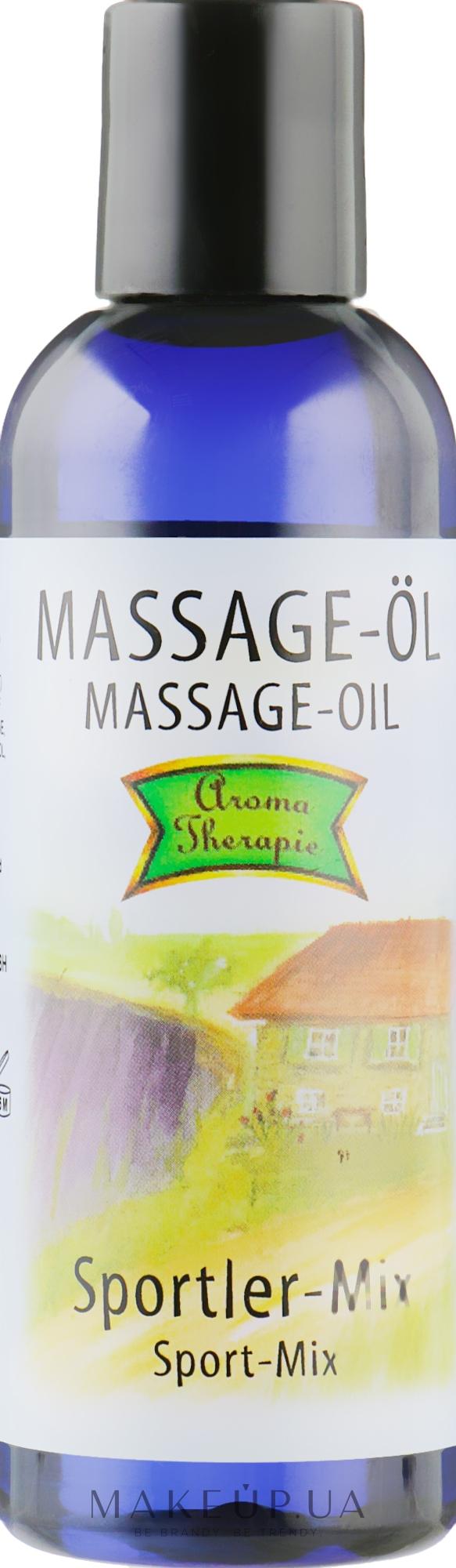 Масажне масло «Спортсмен» - Styx Naturсosmetic Massage Oil — фото 100ml