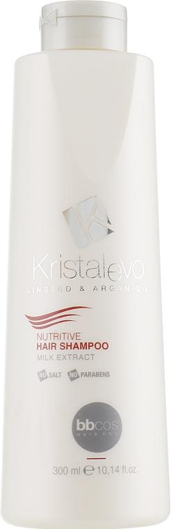 Шампунь для волос, питательный - Bbcos Kristal Evo Nutritive Hair Shampoo