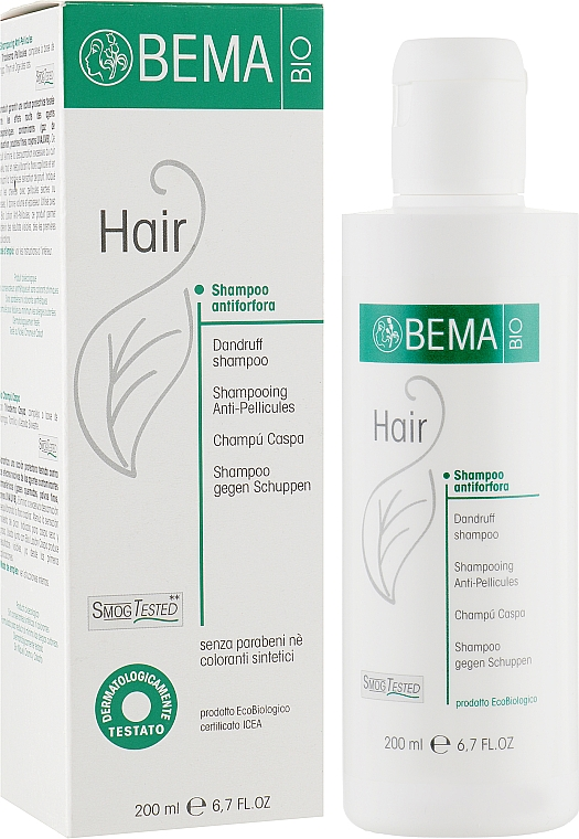 Шампунь от перхоти - Bema Cosmetici Hair Dandruff Bio Shampoo