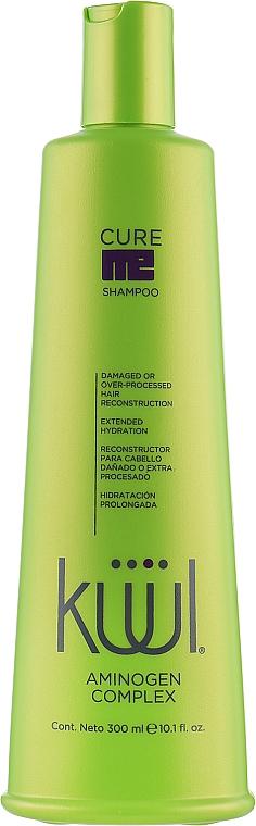 Шампунь для поврежденных волос - Kuul Cure Me Shampoo