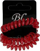 Духи, Парфюмерия, косметика Набор резинок для волос, 405004, красные - Beauty Line