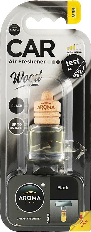 """Ароматизатор для авто """"Black"""" - Aroma Car Wood"""