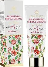 """Духи, Парфюмерия, косметика Крем для лица """"Идеальное отбеливание"""" - Pax Moly Dr. Whitening Perfect Cream"""