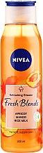 "Духи, Парфюмерия, косметика Гель для душа ""Манго, абрикос и рисовое молоко"" - Nivea Fresh Blends Refreshing Shower Apricot Mango Rice Milk"