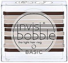 Духи, Парфюмерия, косметика Набор резинок для волос - Invisibobble Basic Mocca & Cream