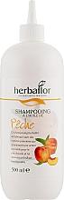 Духи, Парфюмерия, косметика Шампунь для волос с персиком - Herbaflor Peach Shampoo