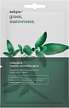 Духи, Парфюмерия, косметика Маска для лица - Tolpa Green Mattifying Normalizing Mask