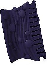 "Духи, Парфюмерия, косметика Крабик для волос ""Волна"", d-842, фиолетовый - Dini Matte Style"