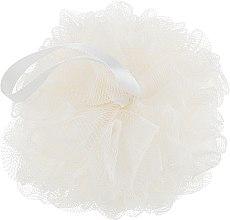 Духи, Парфюмерия, косметика Мочалка синтетическая, средняя, молочная - Balmy Naturel Bath Pouf Medium