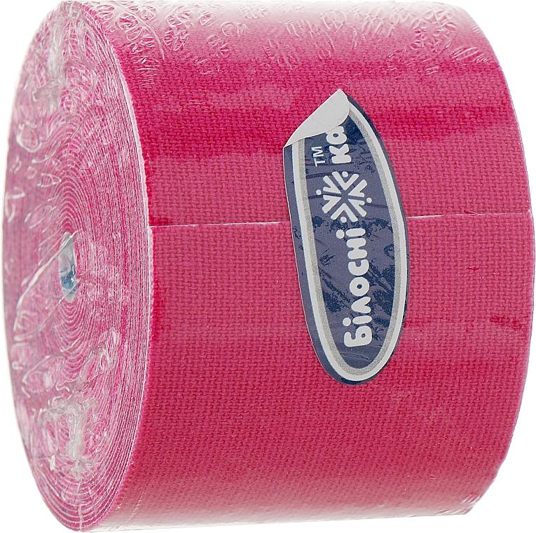 Бинт адгезивный эластичный, розовый - Білосніжка