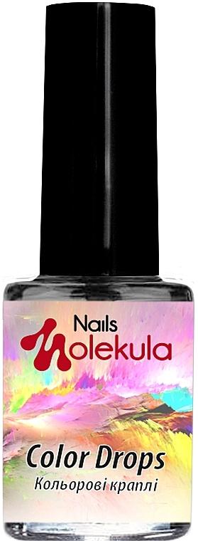 Чернила для акварельной росписи - Nails Molekula Color Drops