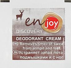 Духи, Парфюмерия, косметика Эко-крем-дезодорант - Enjoy & Joy Discovery Deodorant Cream (пробник)
