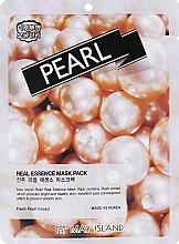 Духи, Парфюмерия, косметика Маска для лица тканевая - May Island Real Essence Pearl Mask Pack